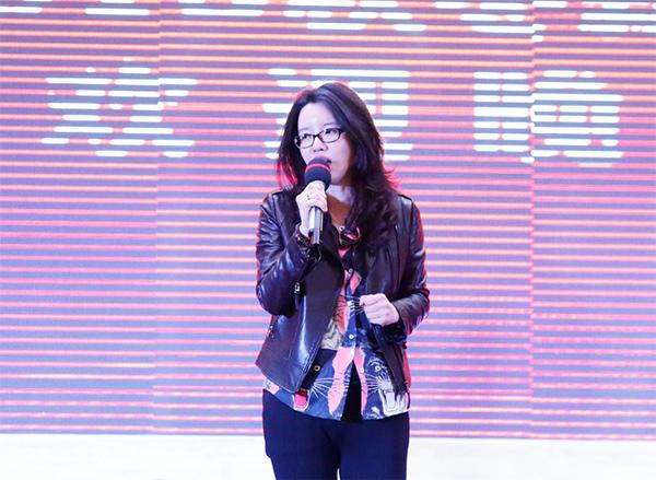 vwin德赢ac米兰官方合作伙伴服饰总经理蒋迎春女士