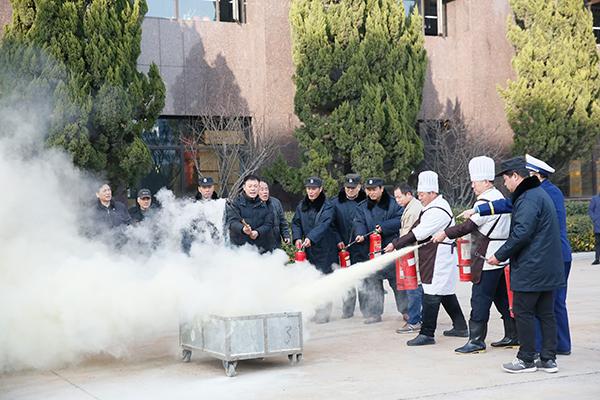 vwin德赢ac米兰官方合作伙伴消防演习